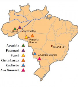 Ethnien Brasilien