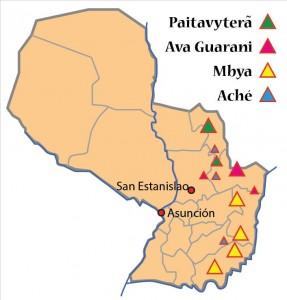 Ethnien Paraguay
