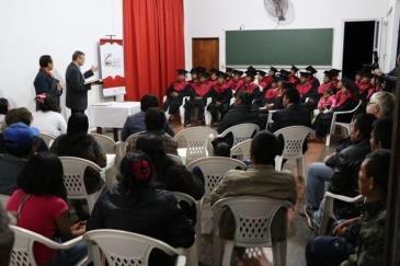 """Kursabschluss """"Aquila & Priscila"""" in Paraguay"""