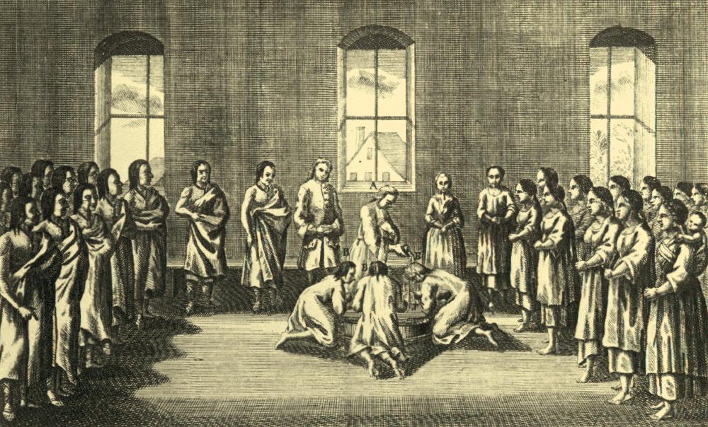 Vor 286 Jahren – Erste Missionare werden ausgesandt