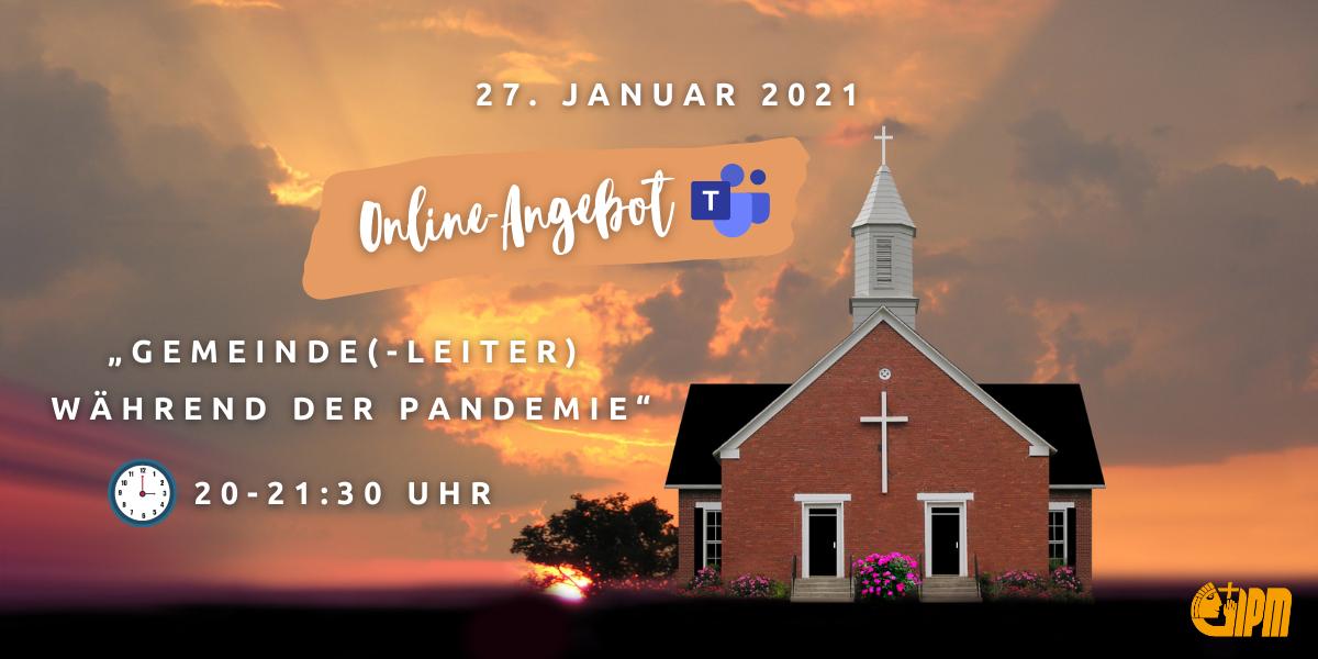 online seminar, pastor, gemeinde